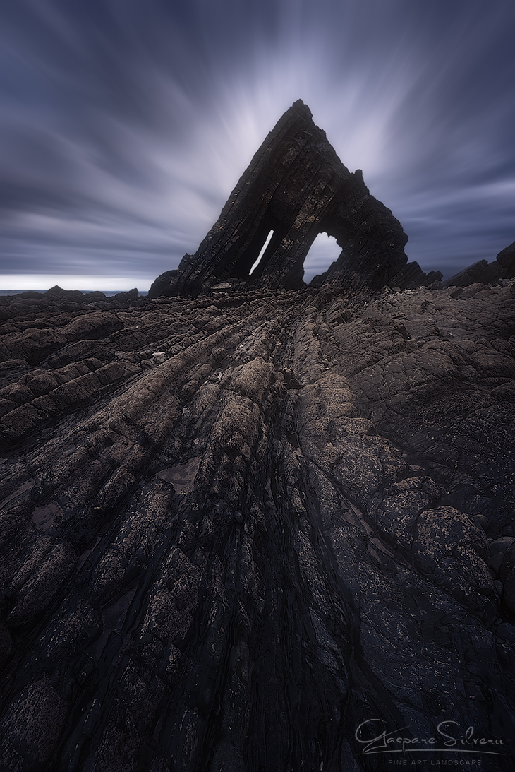 Fotografia_Paesaggio_Gaspare_Silverii_Cornwall_Black_Church_Rock